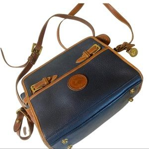Dooney & Bourke vintage pebble leather crossbody